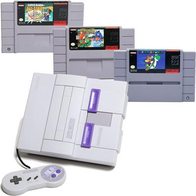 Super NES Best-of Super Mario Blast from the Past System Bundle