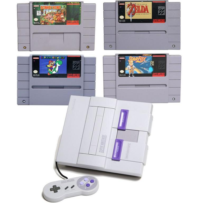 Super NES Heroes Blast from the Past System Bundle