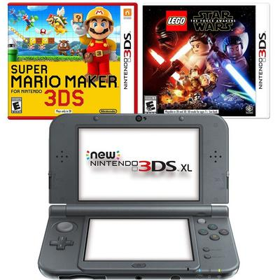 Nintendo NEW 3DS XL - Black Blast from the Past Creator's Bundle