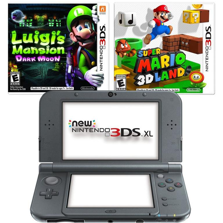 3DS XL Mario Bros. Blast from the Past Cyber Monday System Bundle