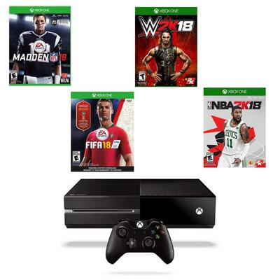 Xbox One Sports Collection Blast from the Past GameStop Premium Refurbished System Bundle