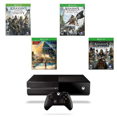 Xbox One Assassin's Creed Blast from the Past GameStop Premium Refurbished System Bundle