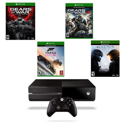 Xbox One Exclusives Blast from the Past GameStop Premium Refurbished System Bundle