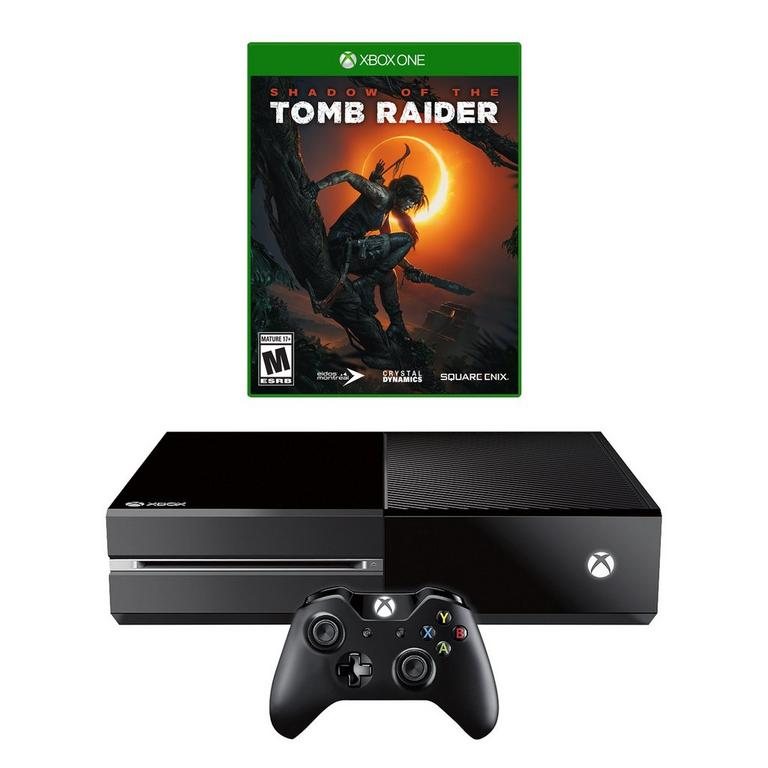 Xbox One and Shadow of the Tomb Raider System Bundle (GameStop Premium Refurbished)