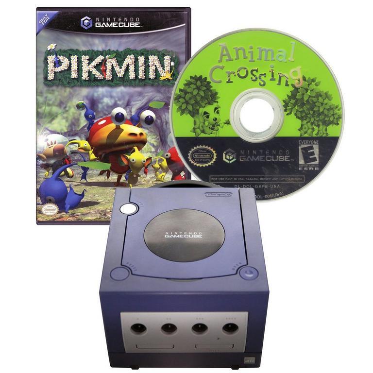 Nintendo GameCube Adorabundle Blast From the Past GameStop Premium Refurbished System Bundle