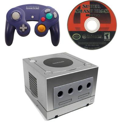 Nintendo GameCube Super Smash Bros. Melee Blast from the Past GameStop Premium Refurbished System Bundle