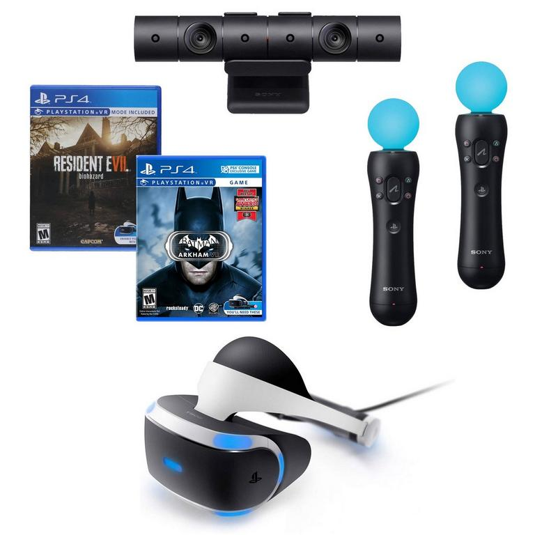 PlayStation VR Dark Nights Blast from the Past Bundle (GameStop Premium Refurbished)