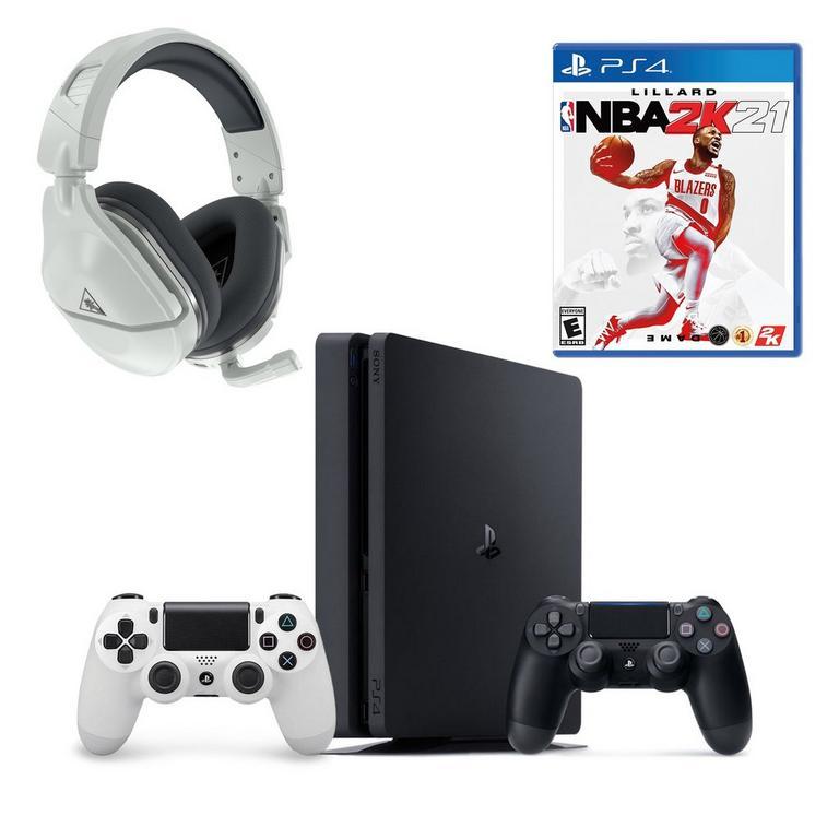 PlayStation 4 1TB System NBA 2K21 Basics System Bundle