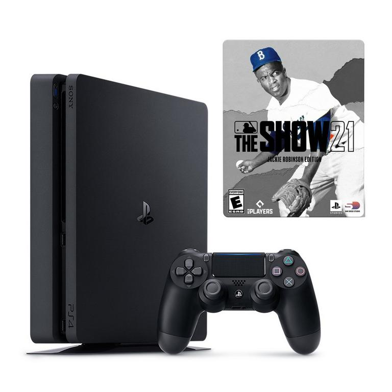 PlayStation 4 and MLB The Show 21 Jackie Robinson Edition System Bundle