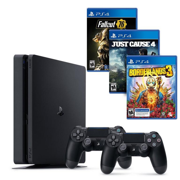 PlayStation 4 Slim Open World Collection System Bundle (GameStop Refurbished)