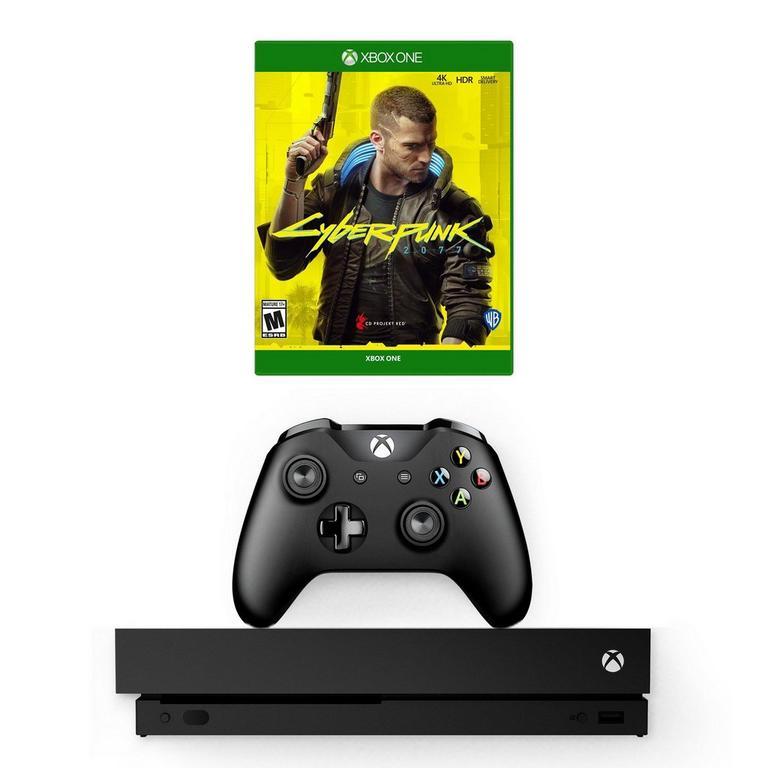 Xbox One X and Cyberpunk 2077 System Bundle (GameStop Premium Refurbished)