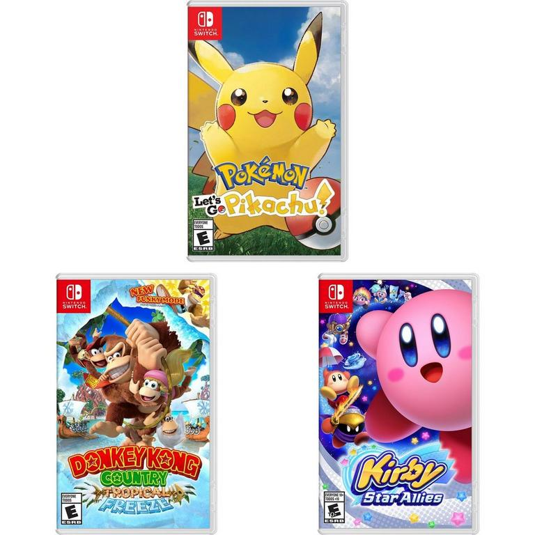 Switch First Party Software Blast from the Past Bundle (Used)