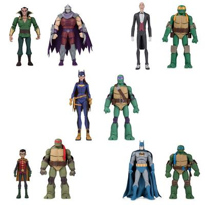 Batman Vs TMNT Figure Bundle - SDCC 2019 Exclusive - Only at GameStop