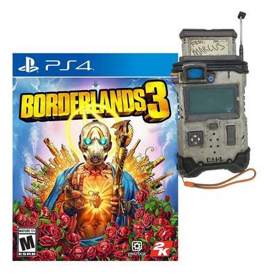Borderlands 3 Super Deluxe Edition and Replica Echo Device Bundle (PlayStation 4)