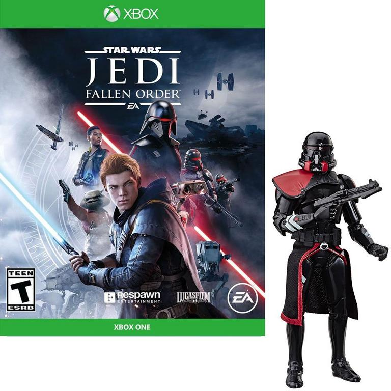 Star Wars: Jedi Fallen Order Xbox One and Black Series Figure Bundle - Only at GameStop