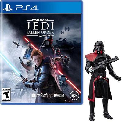 Star Wars: Jedi Fallen Order PlayStation 4 and Black Series Figure Bundle - Only at GameStop