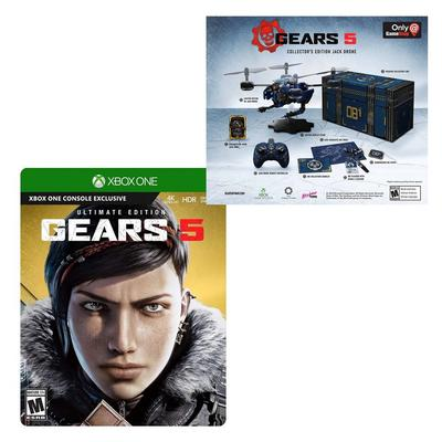 Gears 5 Ultimate Collector's Edition and Jack Drone Complete Collector's Edition Bundle