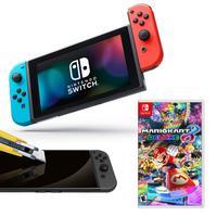 Deals on Nintendo Switch Neon Joy-Con & Mario Kart 8 Deluxe Bundle