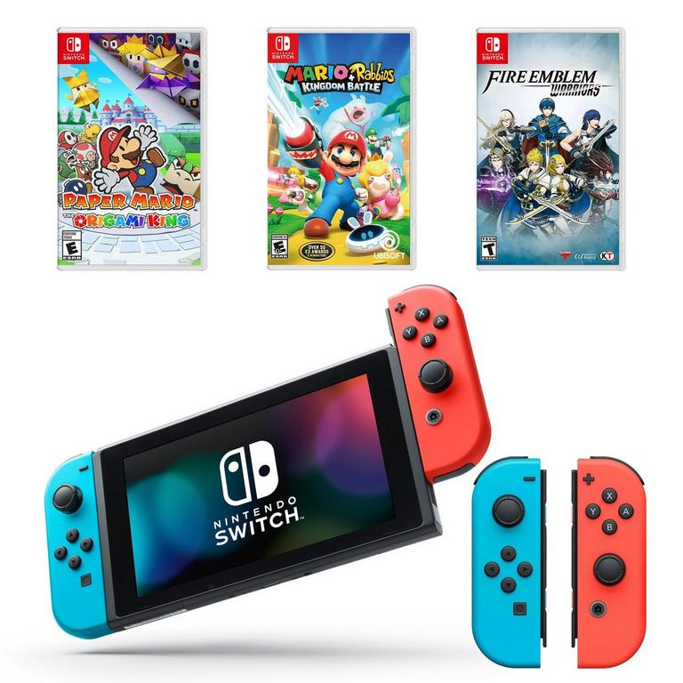 Nintendo Switch Big Hits Collection System Bundle (GameStop Refurbished)