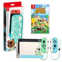 Deals on Nintendo Switch Animal Crossing Edition Game and Case System