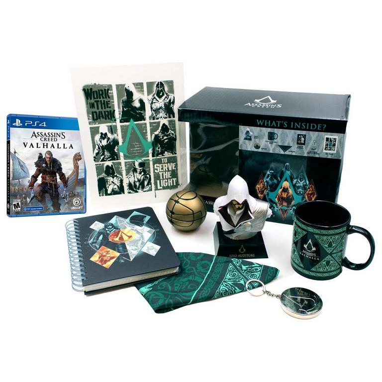 Assassin's Creed Valhalla PlayStation 4 and Collector's Box Bundle