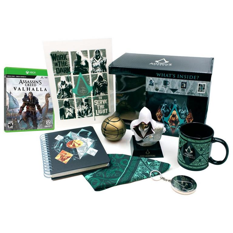 Assassin's Creed Valhalla Xbox One/Series X and Collector's Box Bundle