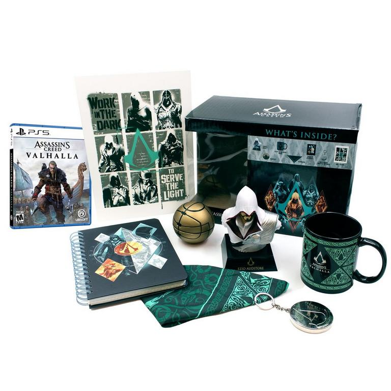 Assassin's Creed Valhalla PlayStation 5 and Collector's Box Bundle