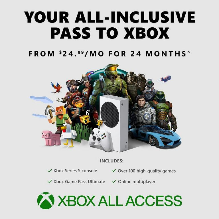 Xbox Series S Xbox All Access