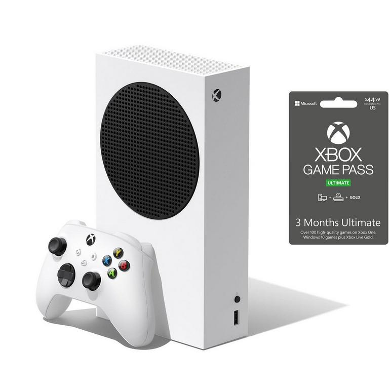 Xbox Series S with 3 months Ultimate Game Pass System Bundle