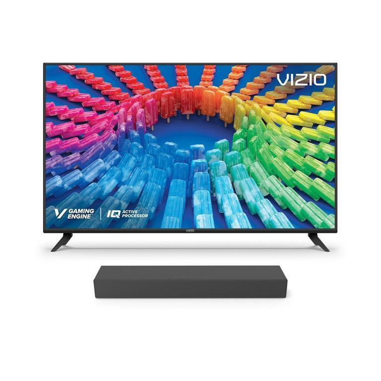 VIZIO V Series 55-inch TV and 2.0 Channel Sound Bar Bundle
