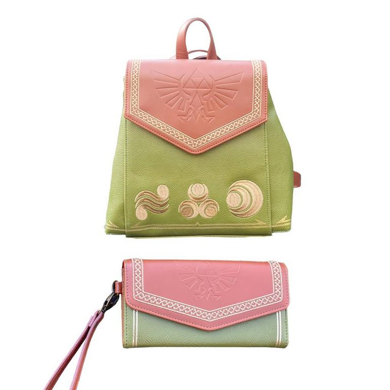 The Legend of Zelda Mini Backpack and Wallet by Danielle Nicole Bundle