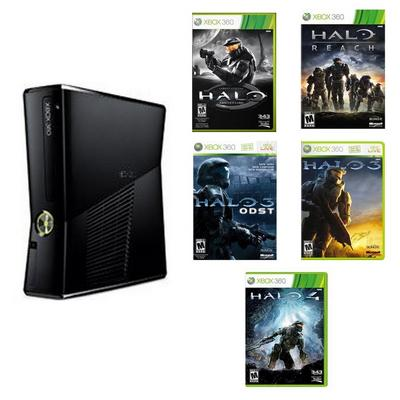 Xbox 360 Halo Collection Blast from the Past System Bundle (Used)
