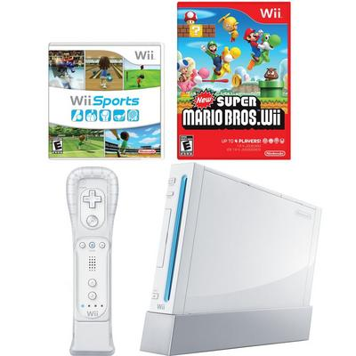 Nintendo Wii Classic Blast from the Past System Bundle (Used)