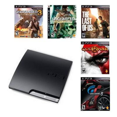 PlayStation 3 Exclusives Blast from the Past Preowned System Bundle