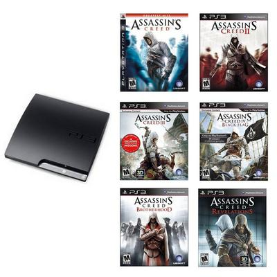 PlayStation 3 Assassin's Creed Collection Blast from the Past System Bundle (Used)