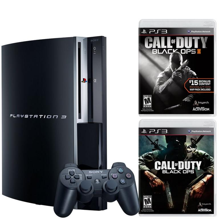 PlayStation 3 Black Ops Blast from the Past GameStop Premium Refurbished System Bundle
