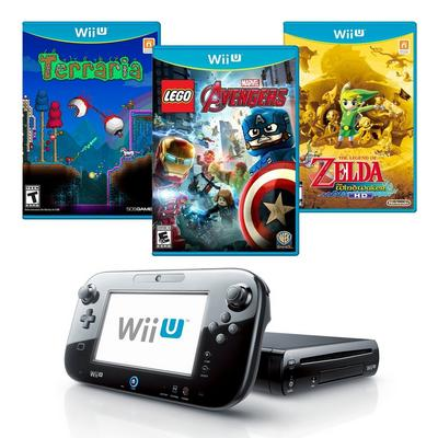 Nintendo Wii U Blast from the Past 32GB Adventure Bundle