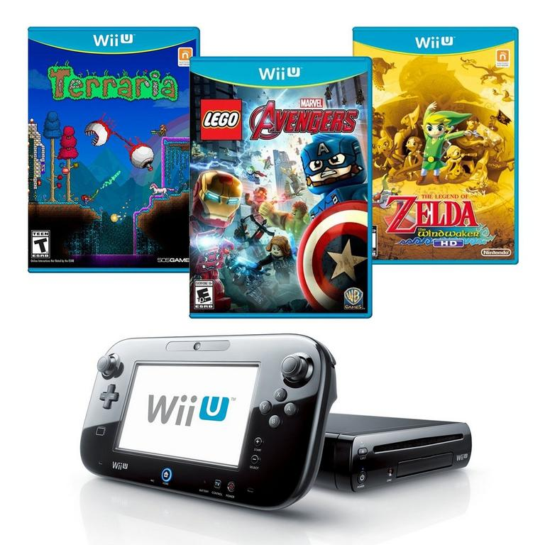 Nintendo Wii U Blast from the Past 32GB Adventure Bundle