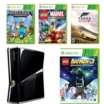 Xbox 360 Essentials Blast from the Past System Bundle