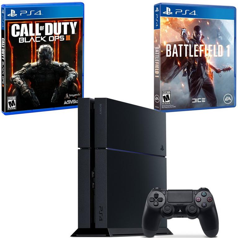 PlayStation 4 Past and Future Warfare Blast from the Past Preowned System Bundle