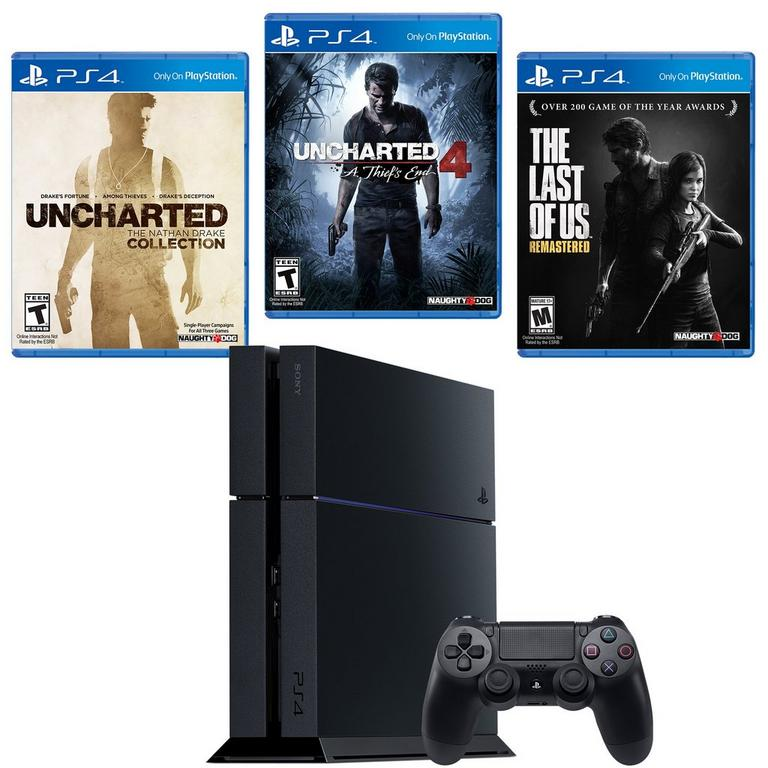 PlayStation 4 Naughty Dog Blast From The Past System Bundle