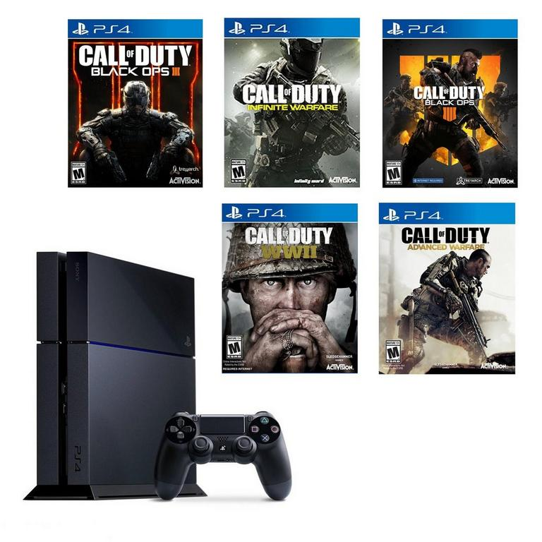 PlayStation 4 Call of Duty Blast from the Past Preowned System Bundle