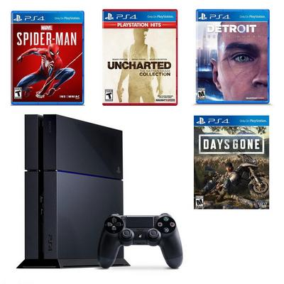 PlayStation 4 Exclusives Blast from the Past Preowned System Bundle
