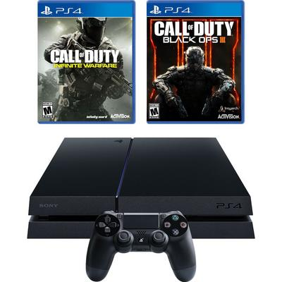 PlayStation 4 Essential Shooter Blast from the Past System Bundle (GameStop Premium Refurbished)
