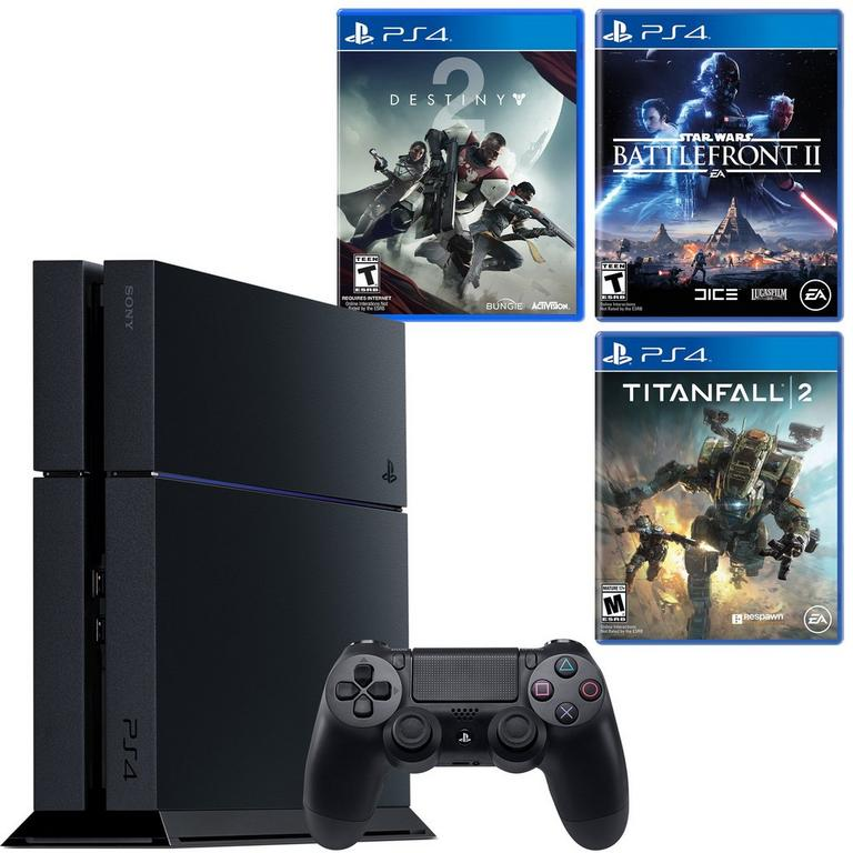 PlayStation 4 Space Sequel Blast from the Past GameStop Premium Refurbished System Bundle