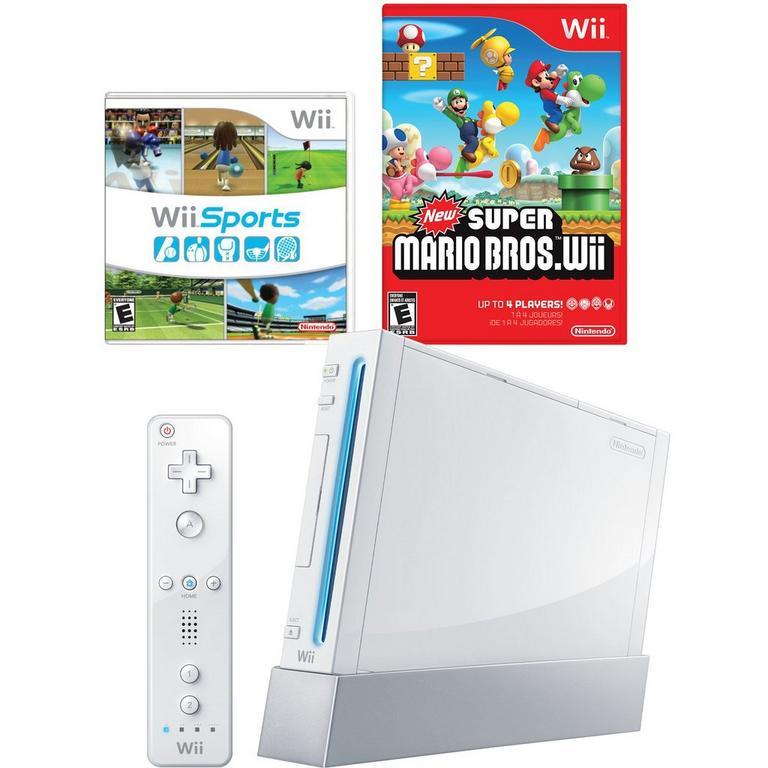 Nintendo Wii Classic Blast from the Past System Bundle (GameStop Premium Refurbished)