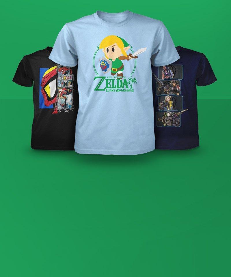 The Ninja Gaming T-Shirt Overwatch Themed Geek Game T-Shirts