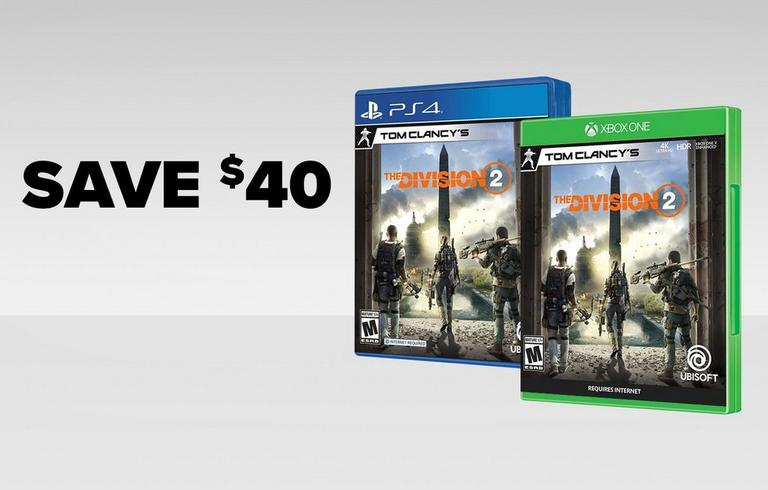 Division 2 - Save $40