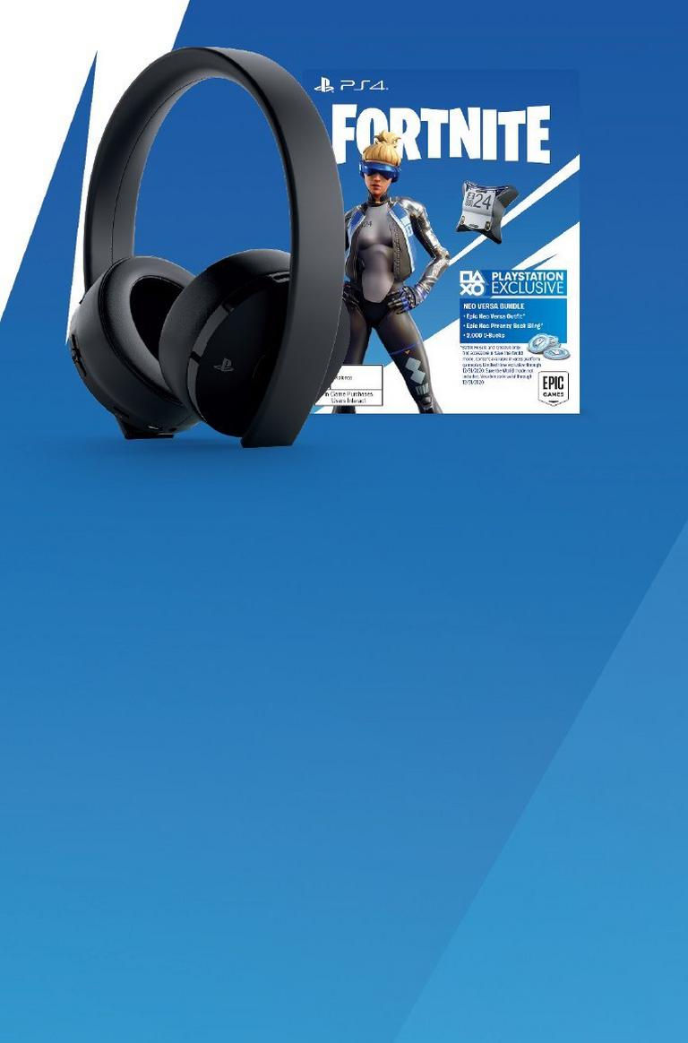 Sony Wireless Gold Headset Bundle