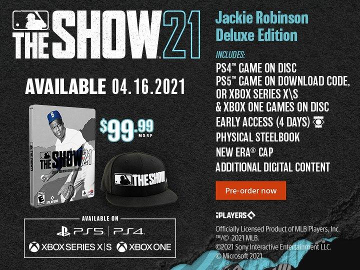 MLB the Show 21 Jackie Robinson Edition